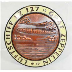 GERMAN NAZI GRAF ZEPPELIN LUFTSCHIFF LZ 127 ARI SHIP BADGE