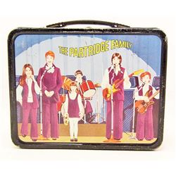 1971 THE PARTRIDGE FAMILY METAL LUNCHBOX - NO THERMOS