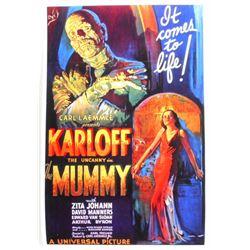 BORIS KARLOFF THE MUMMY MOVIE POSTER PRINT