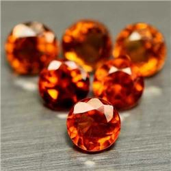 LOT OF 17.97 CTS OF ORANGE AFRICAN HESSONITE GARNETS