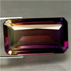 LARGE 34.56 CT PURPLE & GOLDEN BOLIVIAN AMETRINE