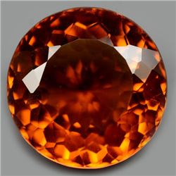 21.37 CT ORANGE BRAZILIAN CITRINE