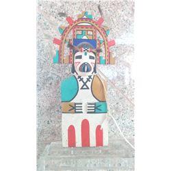 1950's Hopi Kachina Doll w/Acrylic Stand