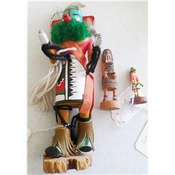 3 Hopi Kachinas