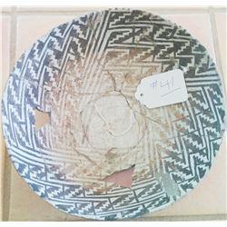 Anazasi Black & white Bowl
