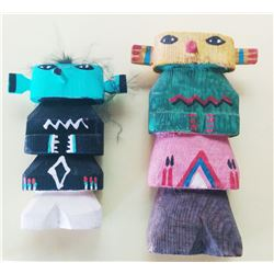 Two Old Hopi Kachina Dolls