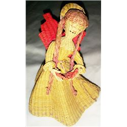 Old Basketry Angel