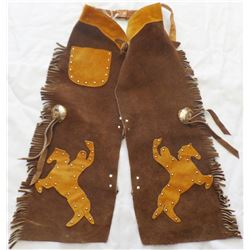 Leather Child's Cowboy Chaps