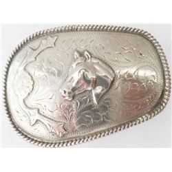 Sterling Silver Belt Buckle