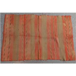 Diagonal Twill Double Saddle blanket from 1890's