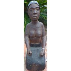 Solomon Islands Hard Wood Figure