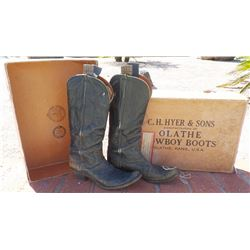 100 Year-old Cowboy Boots in Original Box