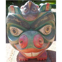 Northwest Coast Style Wood Mask