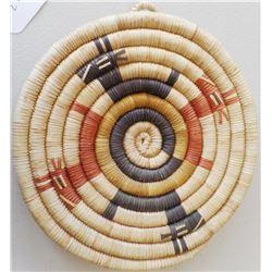 Hopi Figured Coil Basket