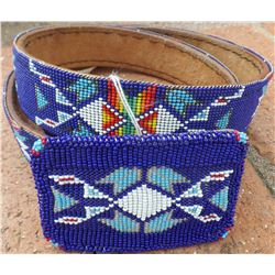 Apache Beaded Belt