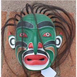 Northwest Coast-Style Mask