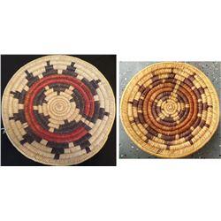 2 Navajo Wedding Baskets