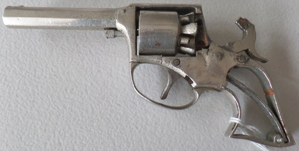 Antique 5 Shot Cap & Ball Pistol