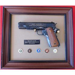 Franklin Mint John Wayne Armed Forces Commemorative .45 Automatic
