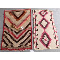 Navajo Child's Tomahawk & 2 Saddle Blankets