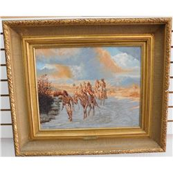"Gene Locklear's ""Circa 1804"" Original Oil Painting"