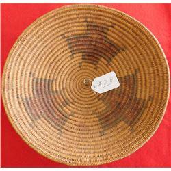 Fine Navajo Cross-design Basket