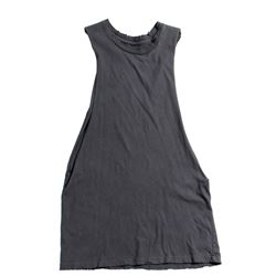 Lisbeth Salander Hero Dark Gray Cotton Knit Cut-Off Top from The Girl with the Dragon Tattoo