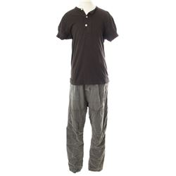 Lisbeth Salander Hero Black Henley & Gray Cargo Pants Costume from The Girl with the Dragon Tattoo
