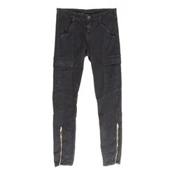 Lisbeth Salander Hero Skinny Black Cargo Pants from The Girl with the Dragon Tattoo