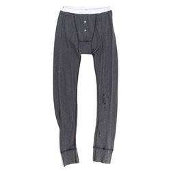 Lisbeth Salander Hero Charcoal Gray Long Johns from The Girl with the Dragon Tattoo