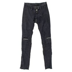 Lisbeth Salander Hero Custom Dark Charcoal Denim Pants from The Girl with the Dragon Tattoo