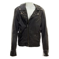Lisbeth Salander Stunt Black Pleather Jacket from The Girl with the Dragon Tattoo