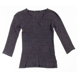 Lisbeth Salander Hero Dark Gray Thermal Shirt from The Girl with the Dragon Tattoo