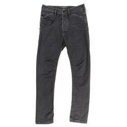 Lisbeth Salander Dark Gray Baggy Denim Jeans from The Girl with the Dragon Tattoo