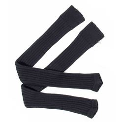Lisbeth Salander Black Knit Leg Warmers from The Girl with the Dragon Tattoo