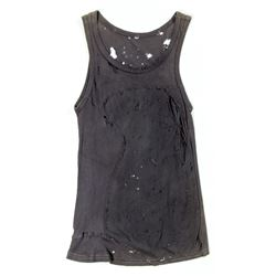 Lisbeth Salander Distressed Dark Gray Tank Top from The Girl with the Dragon Tattoo