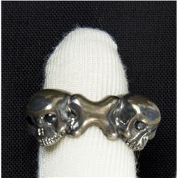 Lisbeth Salander Hero Skulls & Bones Ring from The Girl with the Dragon Tattoo