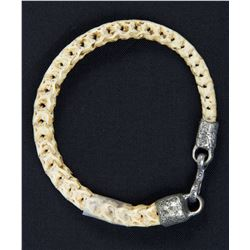 Lisbeth Salander Snake Vertebrae Bone Bracelet from The Girl with the Dragon Tattoo