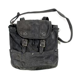 Lisbeth Salander Hero Black Leather Bag from The Girl with the Dragon Tattoo