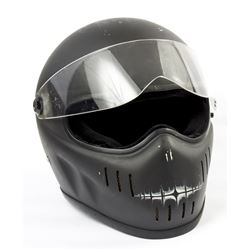 Lisbeth Salander Hero Distressed Motorcycle Helmet from The Girl with the Dragon Tattoo