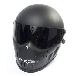 Lisbeth Salander Distressed Motorcycle Helmet from The Girl with the Dragon Tattoo