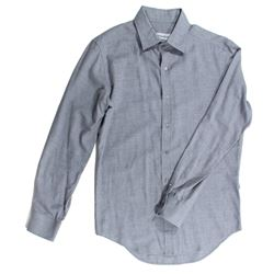 Mikael Blomkvist Hero Heather Gray Collar Shirt from The Girl with the Dragon Tattoo