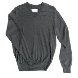 Mikael Blomkvist Hero Dark Green V-Neck Sweater from The Girl with the Dragon Tattoo