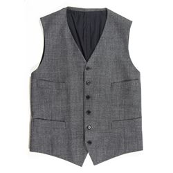 Mikael Blomkvist Gray Vest from The Girl with the Dragon Tattoo