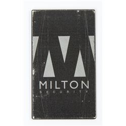 Lisbeth Salander Milton Security ID Card from The Girl with the Dragon Tattoo