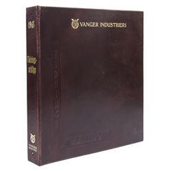 Hero Vanger Industries 1965 Archive Binder from The Girl with the Dragon Tattoo