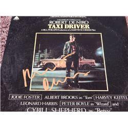 """Robert DeNiro Signed Soundtrack """"Taxi Driver"""""""