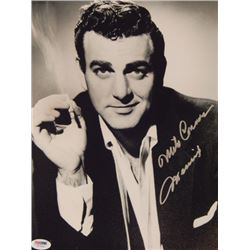 Mike Connors Signed 11x14 Photo PSA