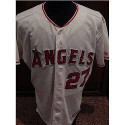 Vladimir Guerrero Game Used Anaheim Angels Jersey #27