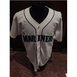 Ken Griffey Jr Game Used Signed Seattle Mariners Jersey #24